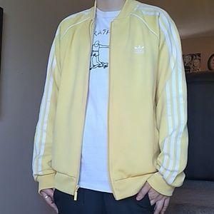 🔥Adidas unisex light yellow jacket